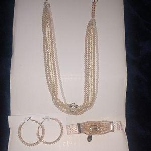 Time and tru jewelry set